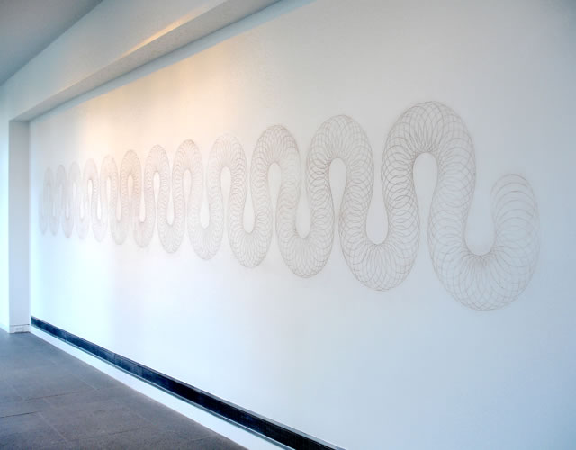 Aldrich Contemporary Art Museum, Ridgefield CT, 2007 - installation view