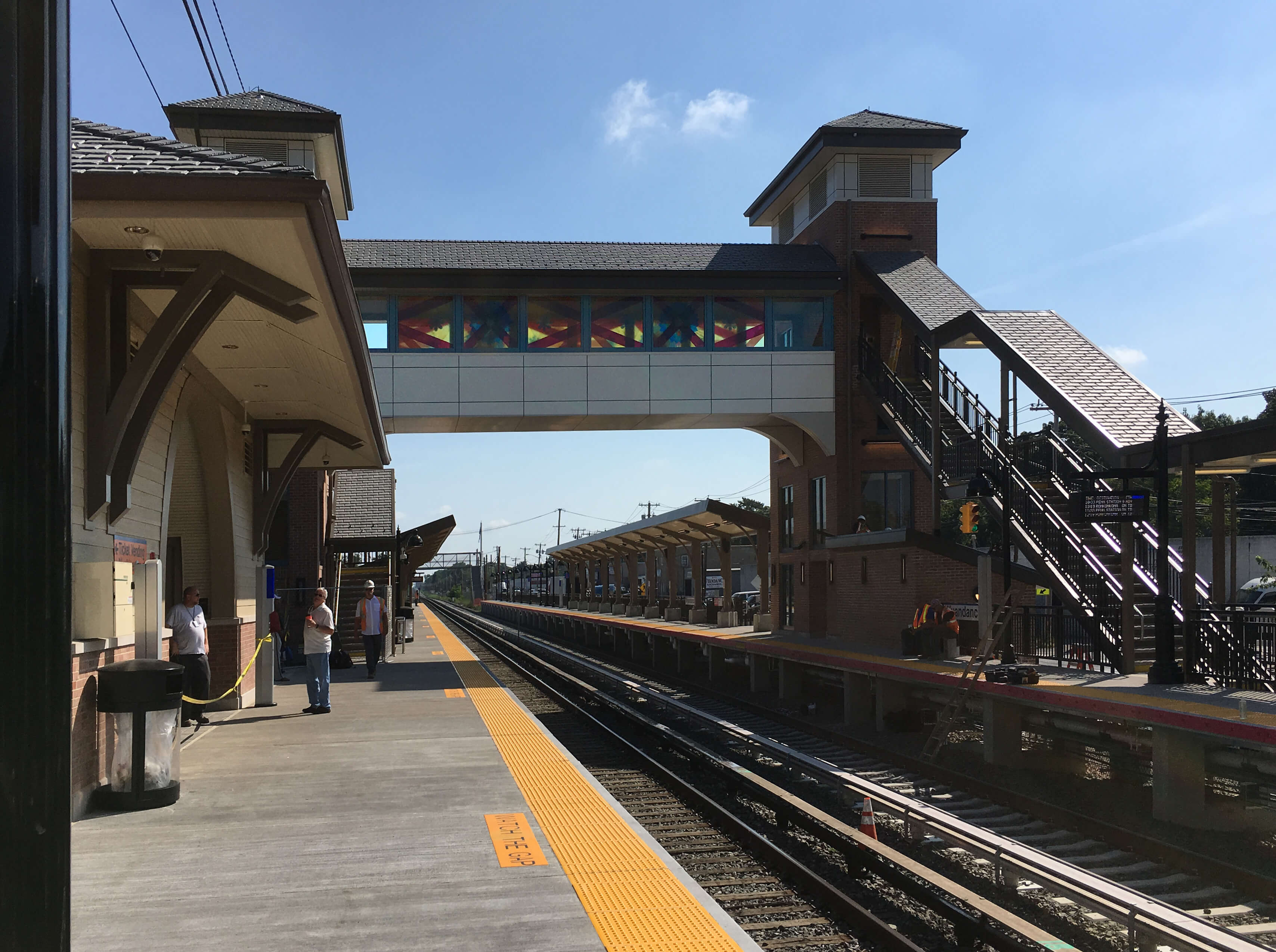 Wyandanch Station, MTA Arts & Design and Long Island Rail Road, NY